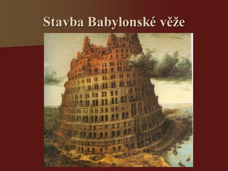 Stavba Babylonské věže