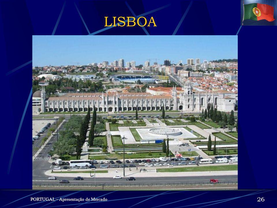 LISBOA PORTUGAL – Apresentação de Mercado 2525
