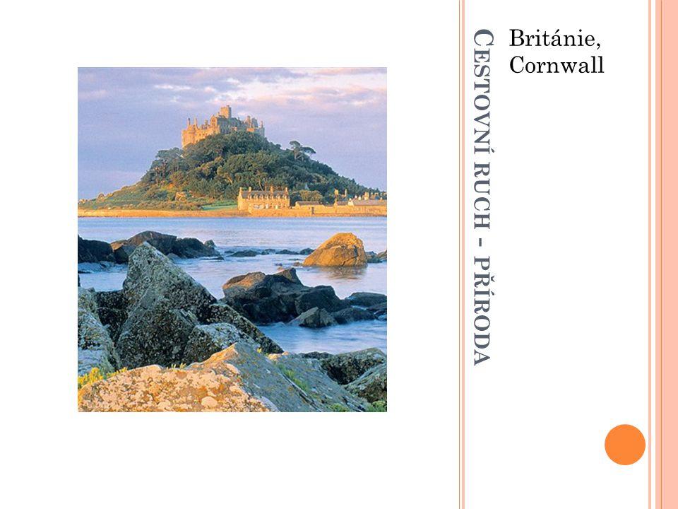 C ESTOVNÍ RUCH - PŘÍRODA Británie, Cornwall