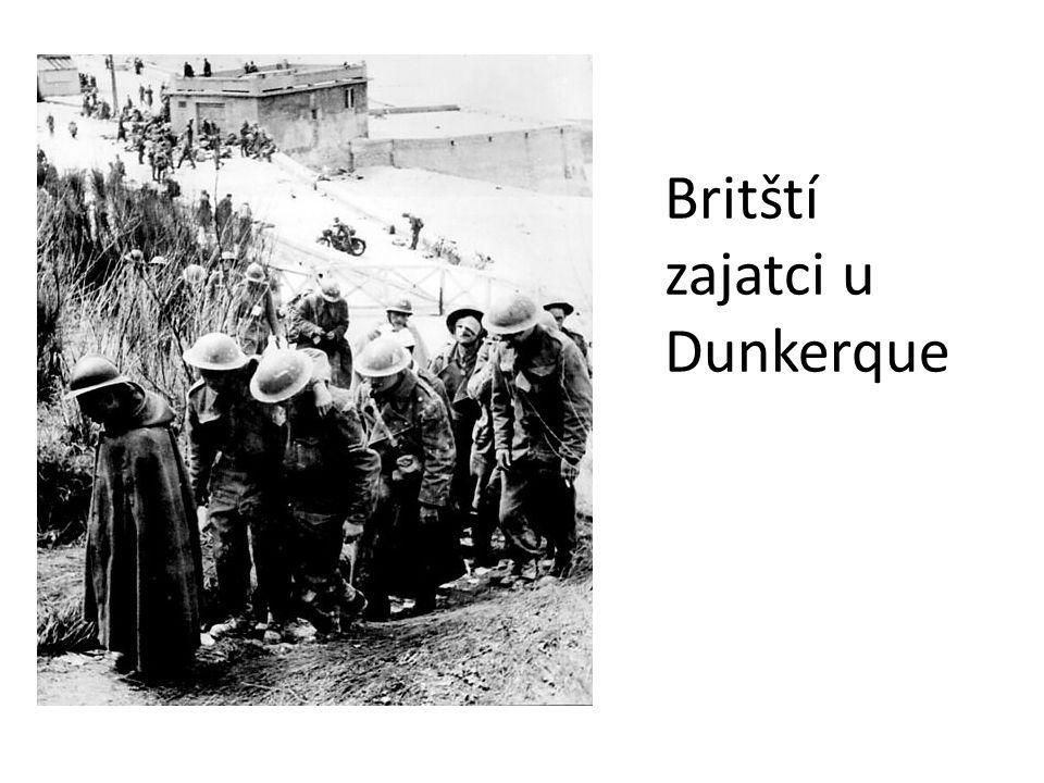 Britští zajatci u Dunkerque