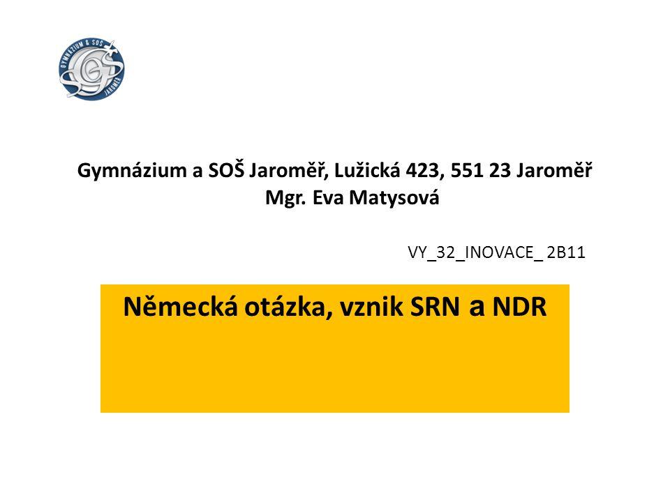 SRN, NDR