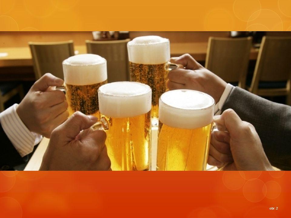 Historie pivovarnictví ve světě Pivo bylo objeveno náhodně.