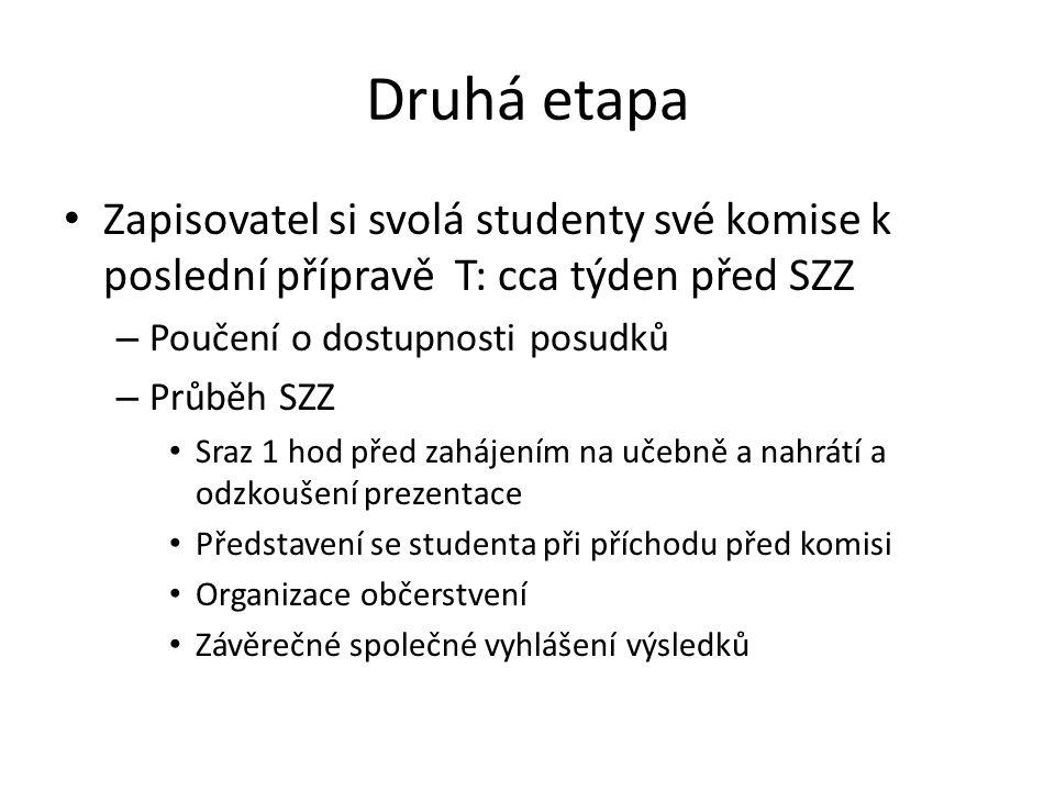 Informace o studentech