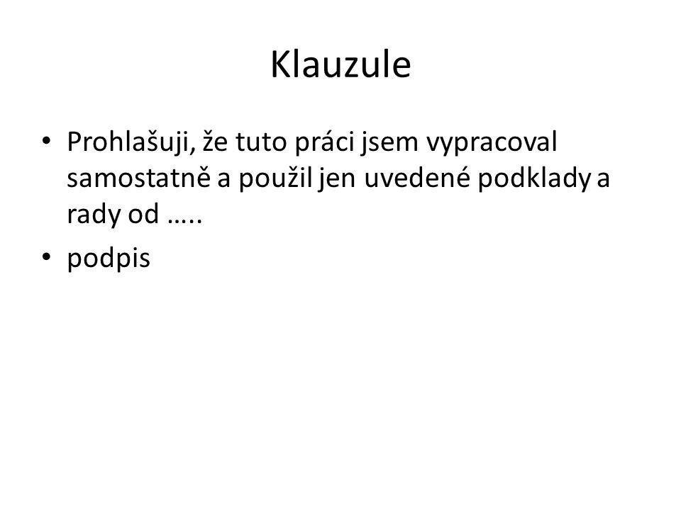 Anotace Na ½ stránky shrnutí obsahu a přínosu práce V češtině a v angličtině