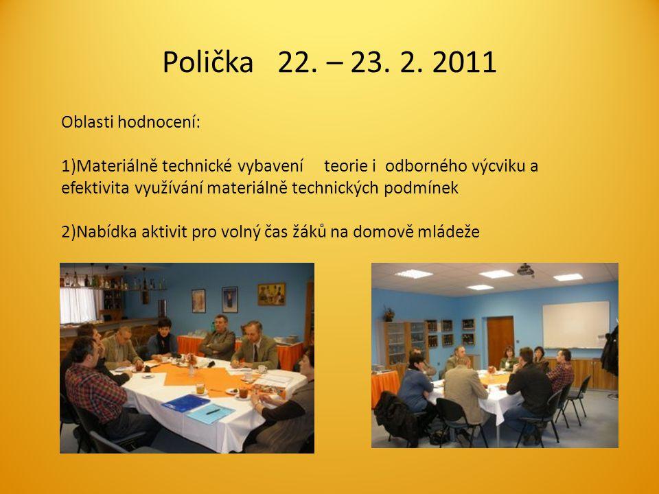 Polička 22. – 23. 2.