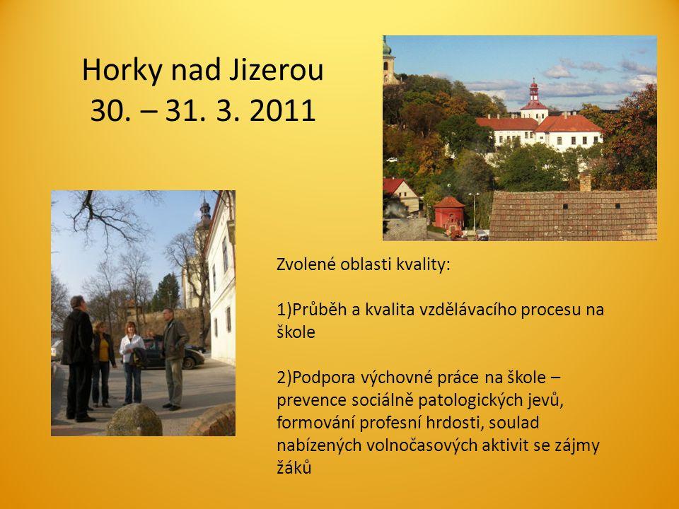 Horky nad Jizerou 30. – 31. 3.