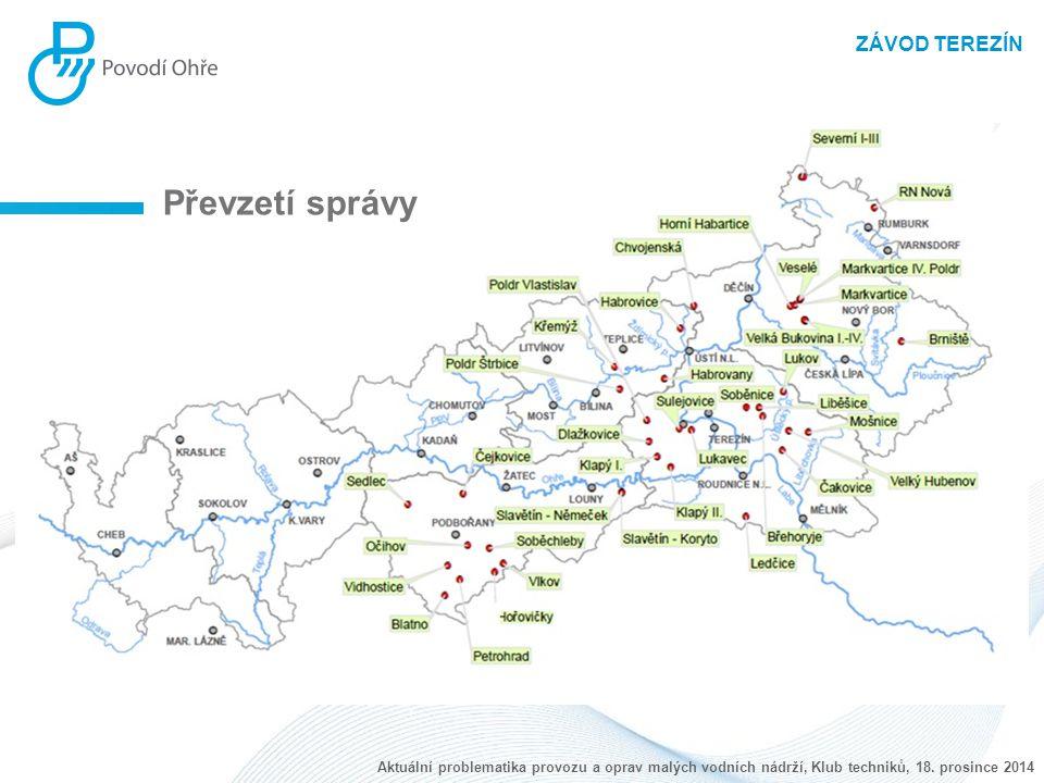 ZÁVOD TEREZÍN Havárie - VN Veselé Aktuální problematika provozu a oprav malých vodních nádrží, Klub techniků, 18.