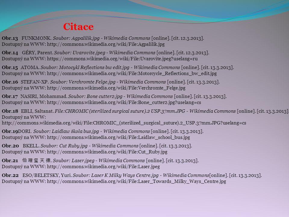 Citace Obr.15 ATOMA. Soubor: Motocykl Reflections bw edit.jpg - Wikimedia Commons [online].