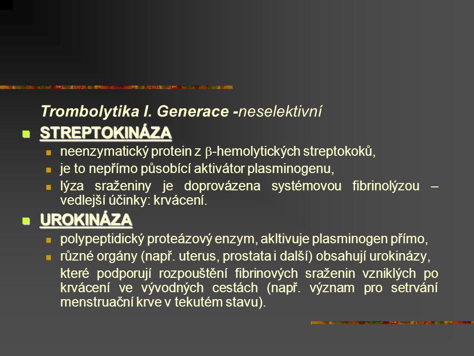 Trombolytika II.