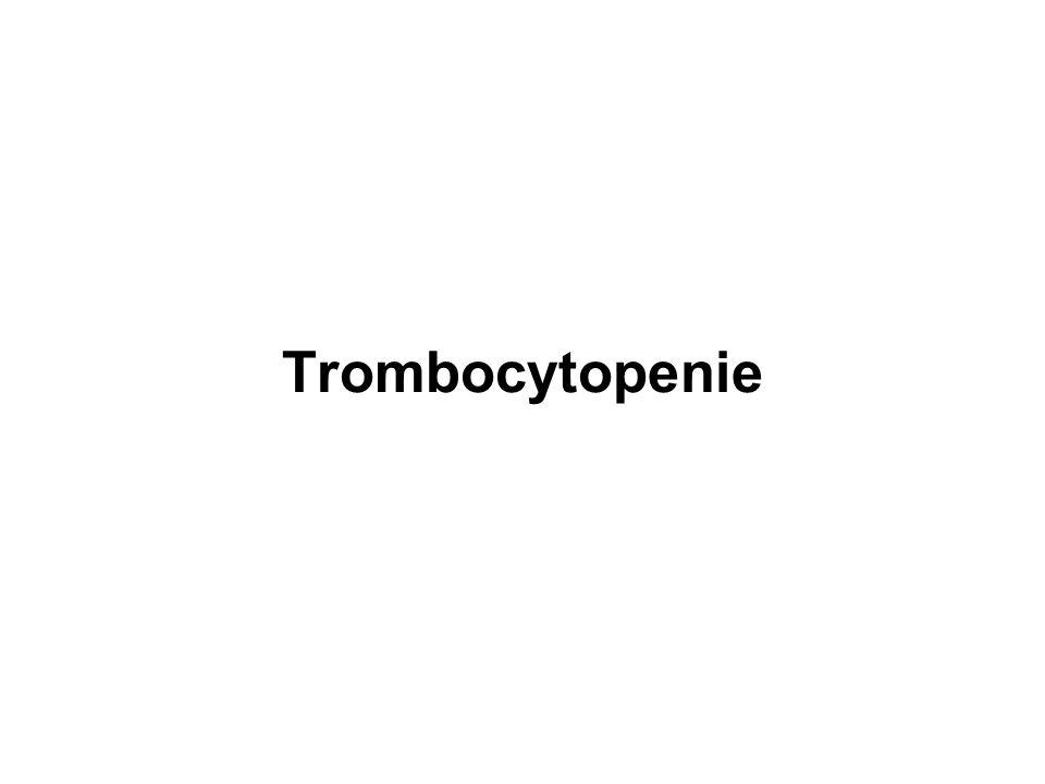 Trombocytopenie