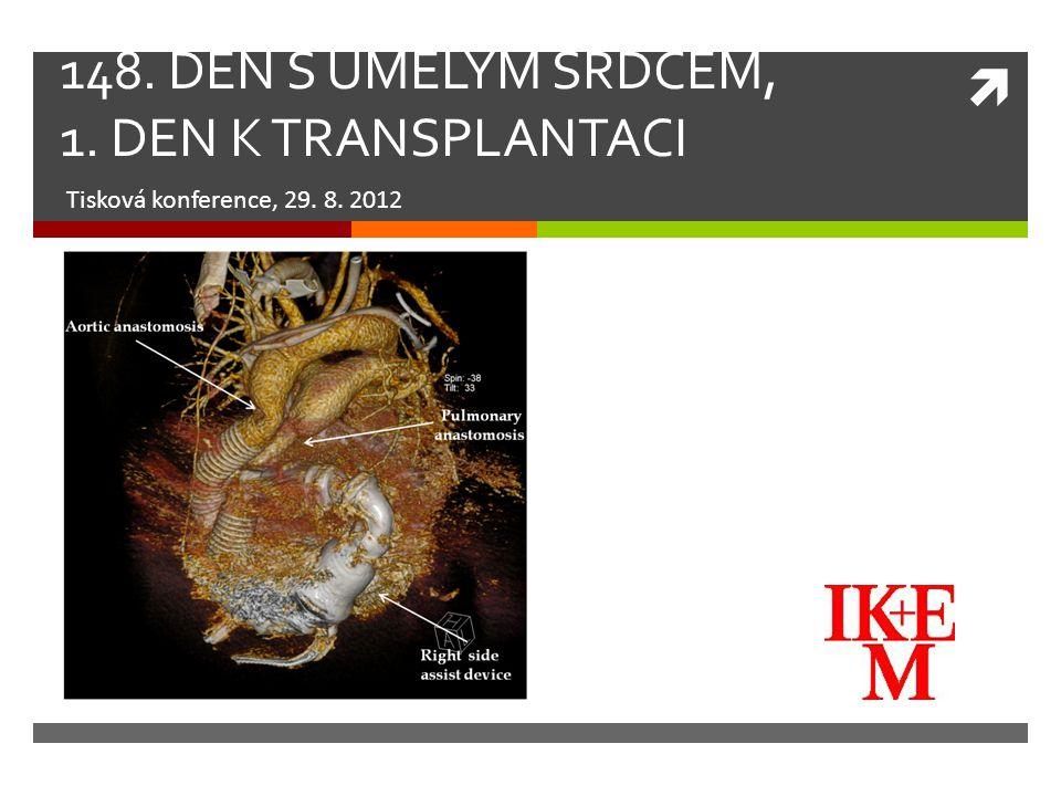 PACIENTI NA MECHANICKÉ PODPOŘE V IKEM Typ mechanické srdeční podporyPočet pacientů Parakorporální55 Implantabilní92 Krátkodobá70  provedena transplantace srdce: 94  čeká na mechanické podpoře: 24