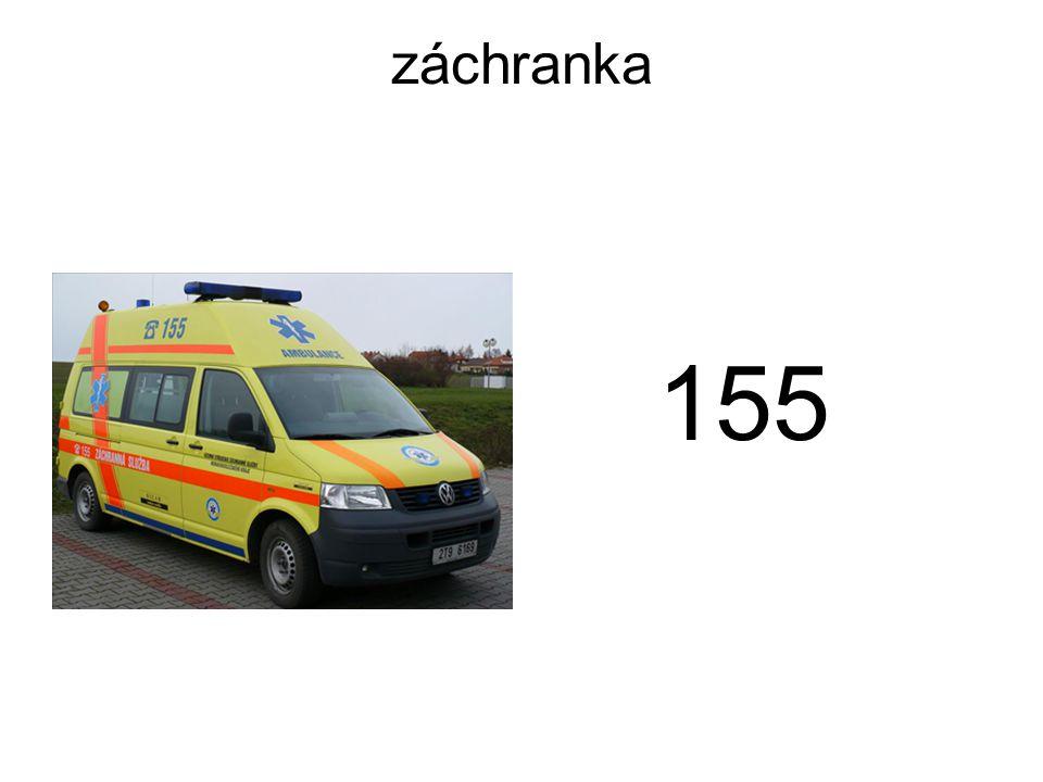 záchranka 155