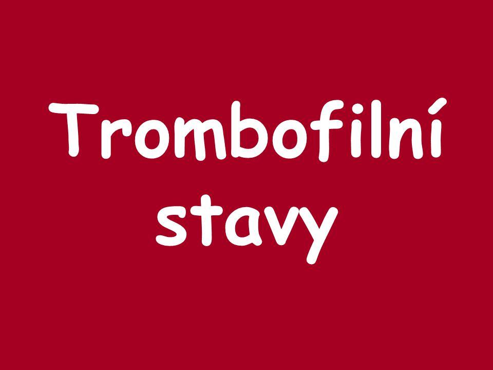 Trombofilní stavy