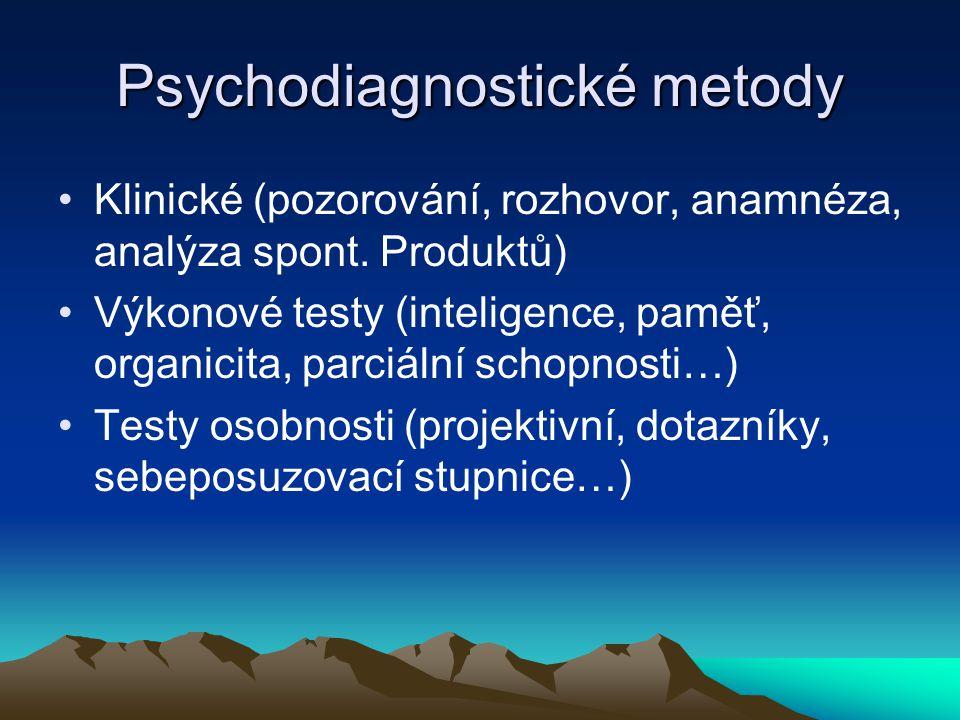 Kategorie duševních poruch MKN-10, kategorie F00-F99 Kapitola psychiatrie je členěna do 10 oddílů, v nichž jsou jednotlivé poruchy zařazovány do skupin podle hlavních společných znaků.