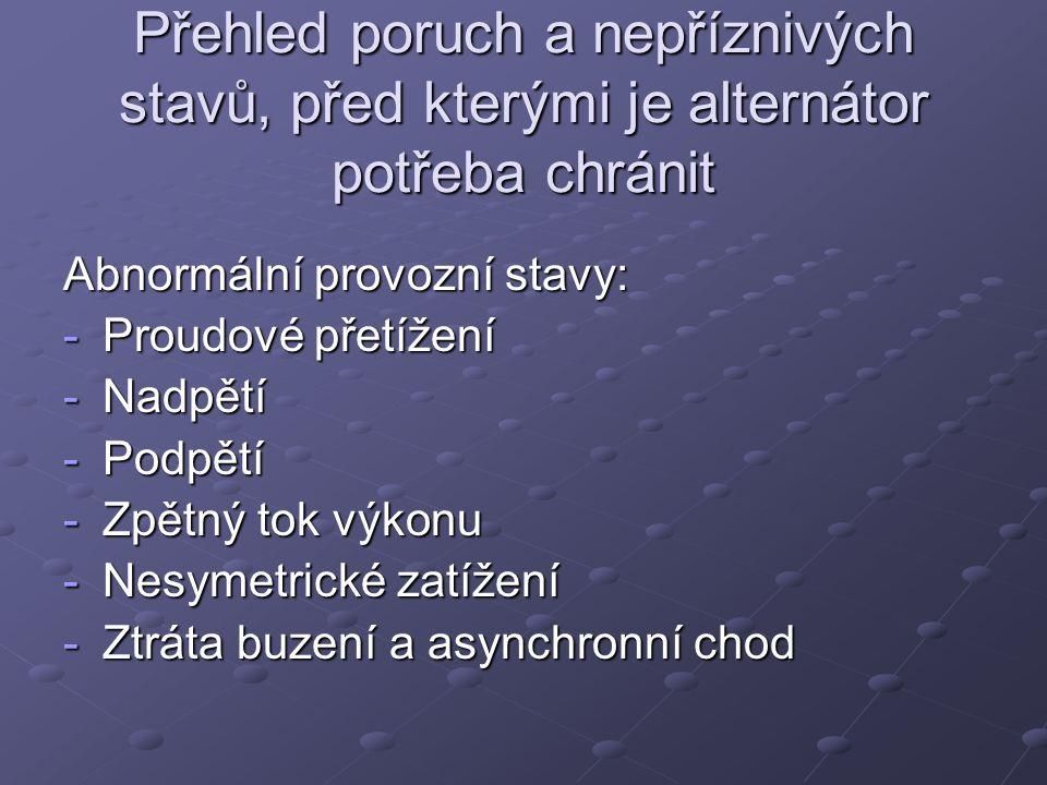 Použitá literatura Zdeněk Fejt; Elektroenergetika, ČVUT Zdeněk Fejt; Elektroenergetika, ČVUT Miloš Beran; Elektrická zařízení tepelných elektráren, VŠSE http://webs.zcu.cz/fel/kee/OZS/P%f8edn% e1%9aky%202009/Ochrany_generatoru1.