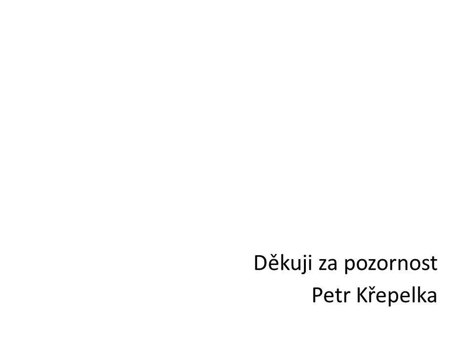Děkuji za pozornost Petr Křepelka