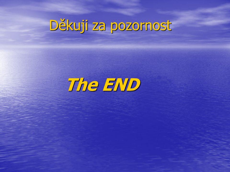 Děkuji za pozornost Děkuji za pozornost The END The END