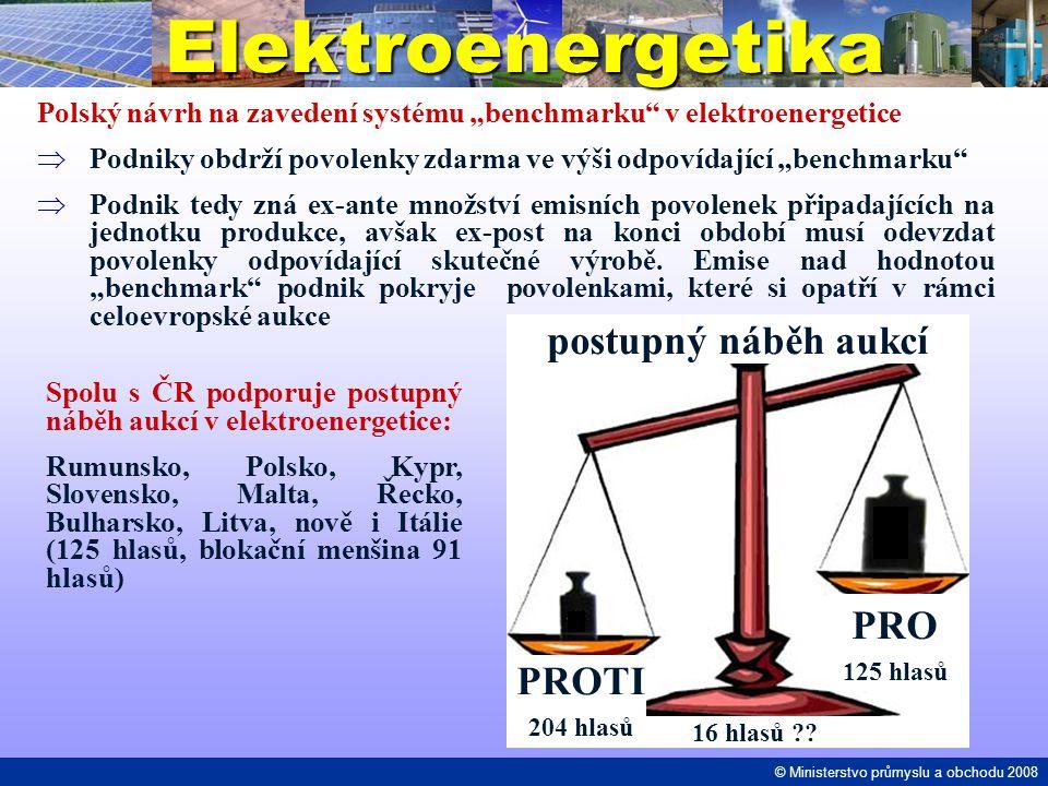 """Elektroenergetika Polský návrh na zavedení systému """"benchmarku"""" v elektroenergetice  Podniky obdrží povolenky zdarma ve výši odpovídající """"benchmarku"""