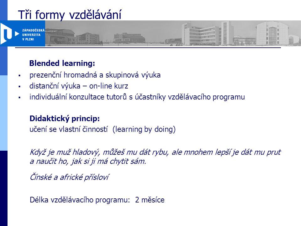 Struktura vzdělávacího programu