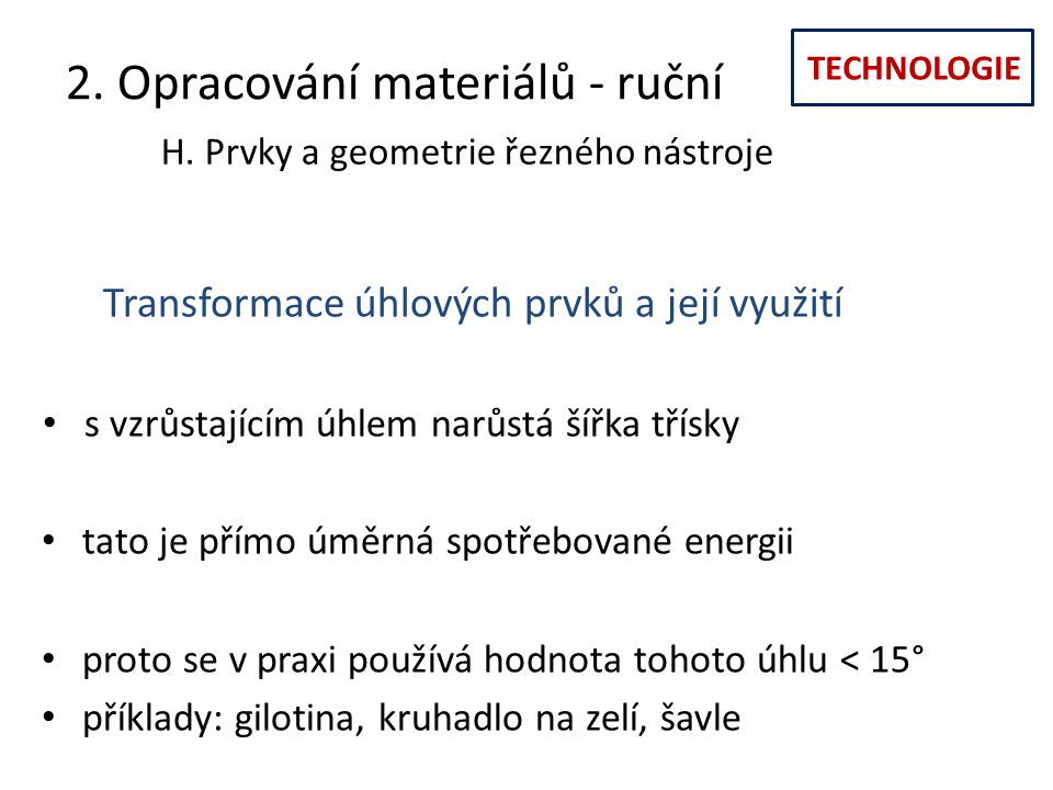 TECHNOLOGIE 2.