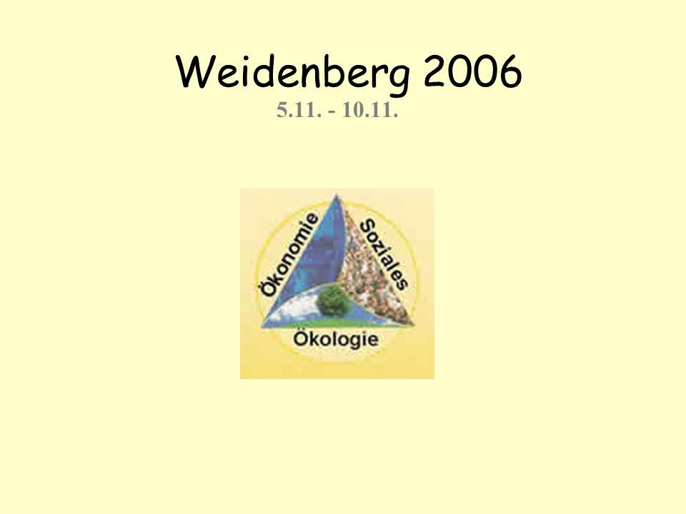 I tento rok se naše škola ve spolupráci s gymnáziem v Saarbrücken zúčastnila semináře v německém Weidenbergu, na téma Udržitelnost jako ekologický a celospolečenský princip.