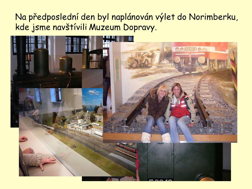 V den návratu jeli naši německo-francouzští kamarádi do České republiky s námi, aby si mohli prohlédnout Karlovy Vary, Ostrov a hlavně naše Gymnázium, kde nahlédli do vyučování.