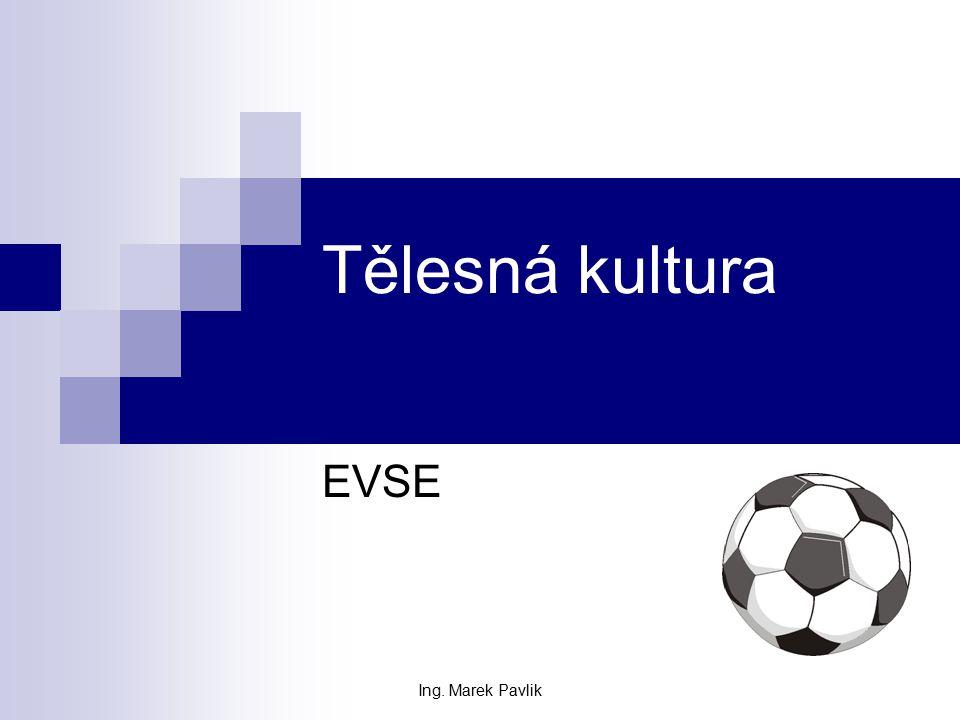 Ing. Marek Pavlik Tělesná kultura EVSE