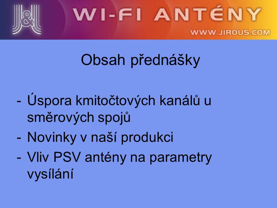 Ověření vlivu PSV antény a kabelu na parametry vysílání Konstelační diagram je podstatný ukazatel kvality vysílaného signálu.