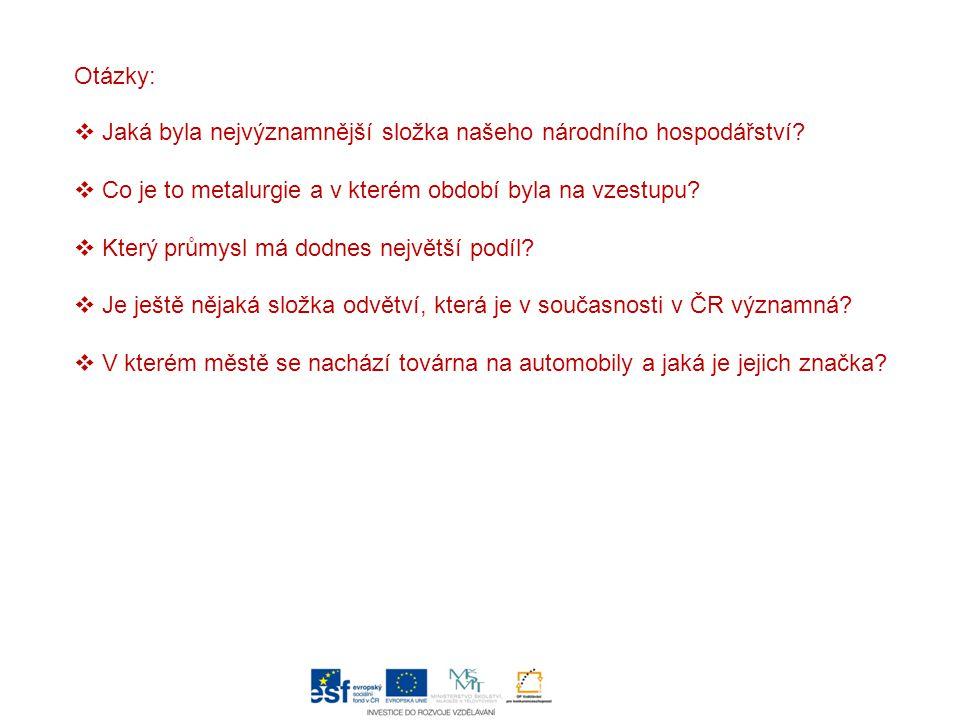 Těžba nerostných surovin  v ČR má dlouhou tradici, zásoby některých z nich /např.