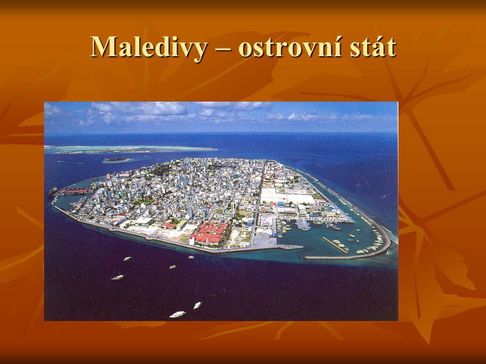 Maledivy – ostrovní stát
