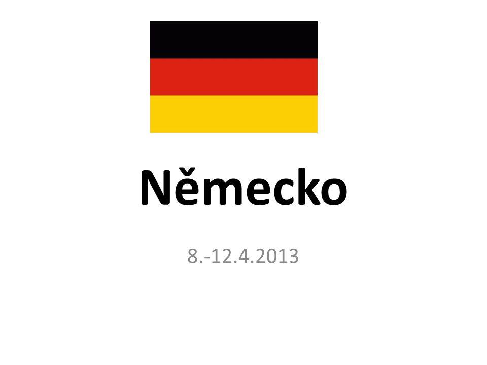 Německo 8.-12.4.2013