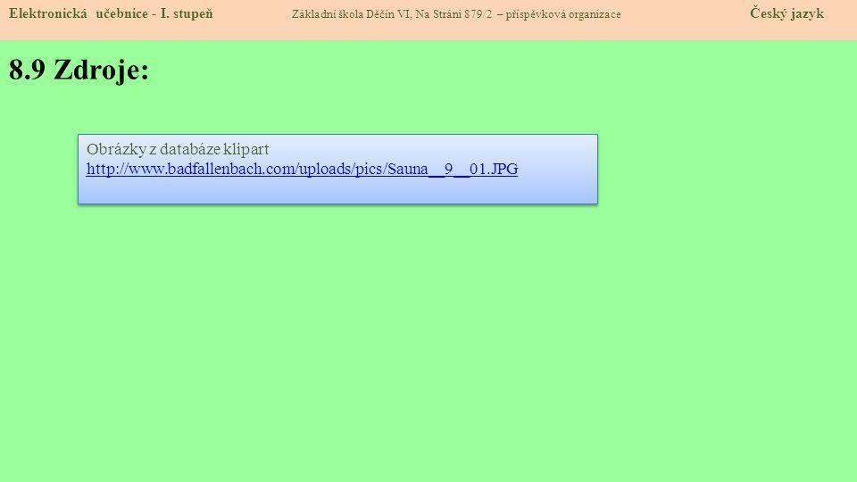 8.10 Anotace: Elektronická učebnice - I.