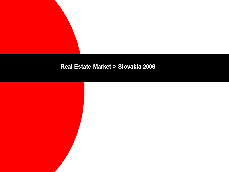 Real Estate Market > Slovakia 2006
