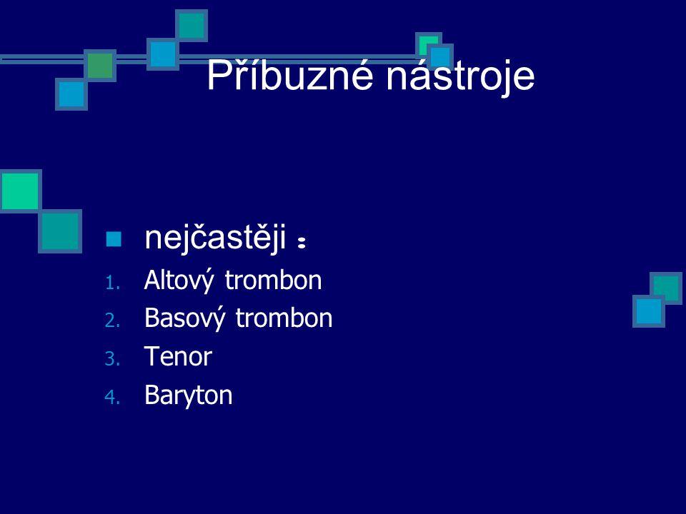 Basový trombon Ladění B