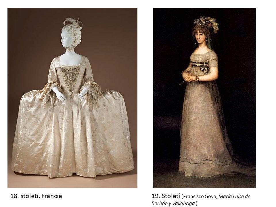 18. století, Francie19. Století (Francisco Goya, María Luisa de Borbón y Vallabriga )