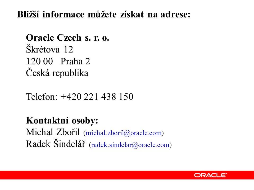 Oracle Czech s.r. o.