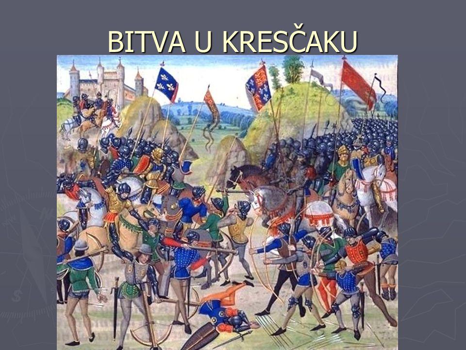 DRUHÉ OBDOBÍ VÁLKY ► Začalo mírem v Brétigny 1360 ► 1364 nastoupil na francouzský trůn Karel V.