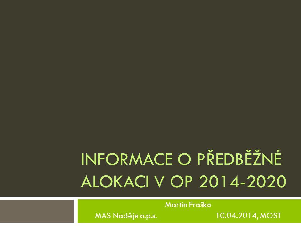 Evropské strukturální a investiční fondy 2007 - 2013 V plánovacím období 2007 – 2013 bylo možné čerpat prostřednictvím metody LEADER z těchto OP:  OP Program rozvoje venkova