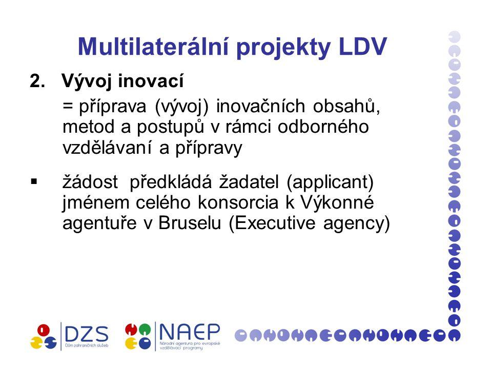 Multilaterální projekty LDV 2.