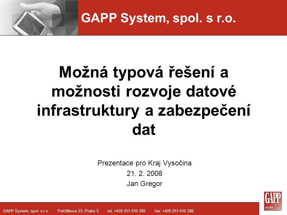 GAPP System, spol.s r.o. GAPP System, spol. s r.o.