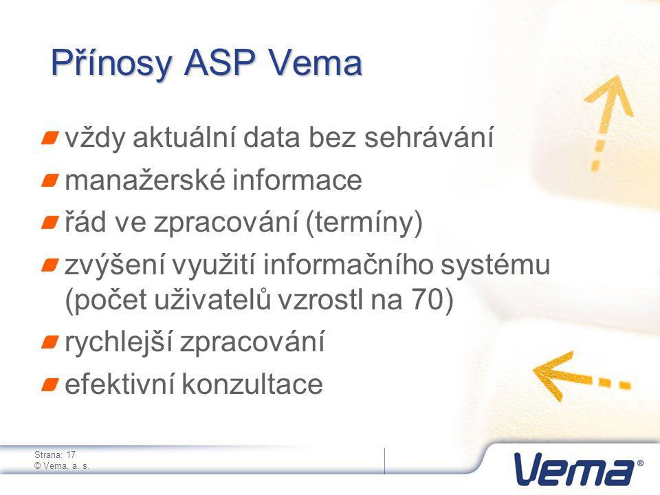 Strana: 17 © Vema, a. s.