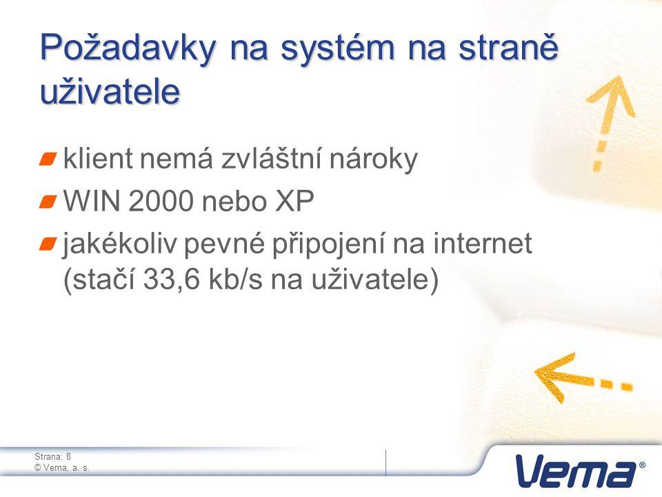 Strana: 8 © Vema, a. s.