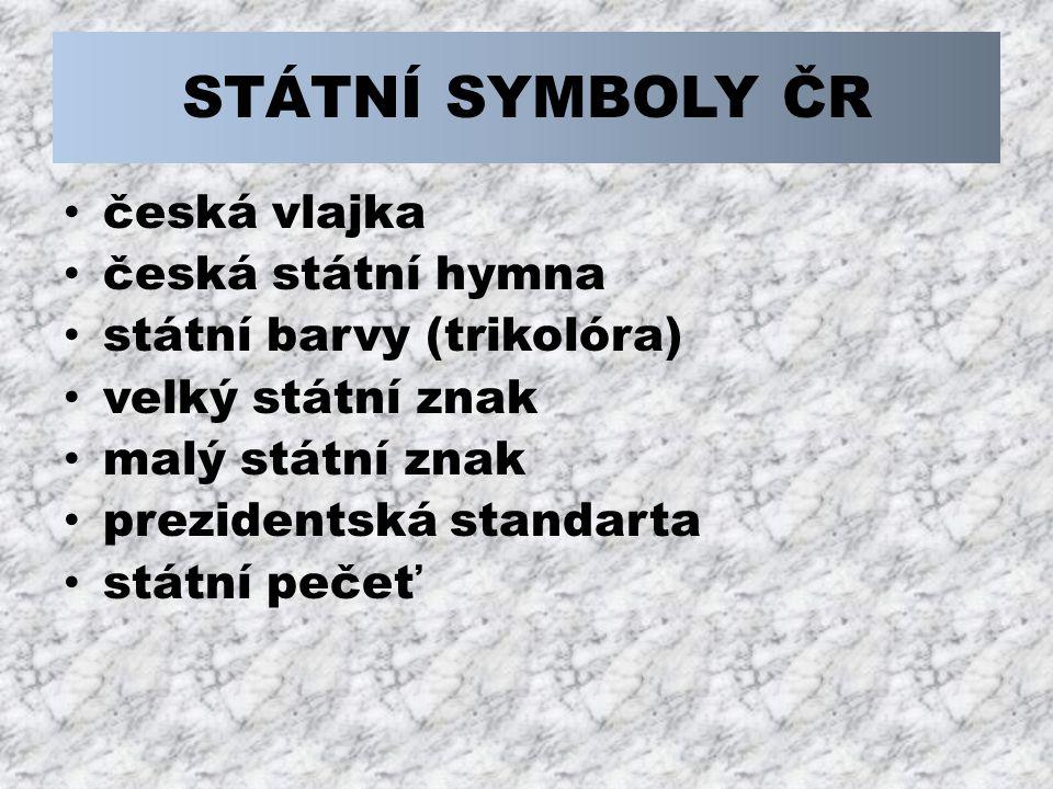 Vlajka prezidenta republiky Vlajku prezidenta republiky lze užít k označení: sídla prezidenta republiky v době jeho přítomnosti v České republice, dopravního prostředku používaného prezidentem republiky.