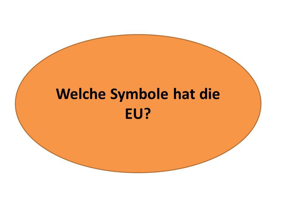 Welche Symbole hat die EU?