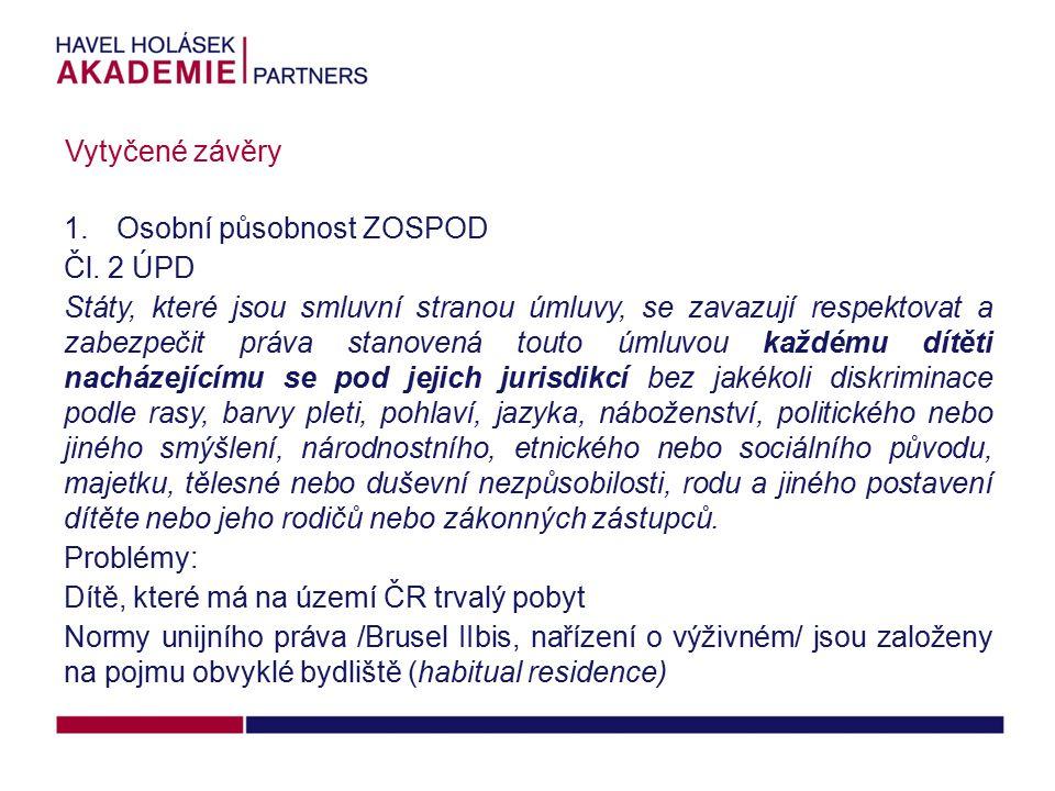 1.Osobní působnost ZOSPOD Čl.