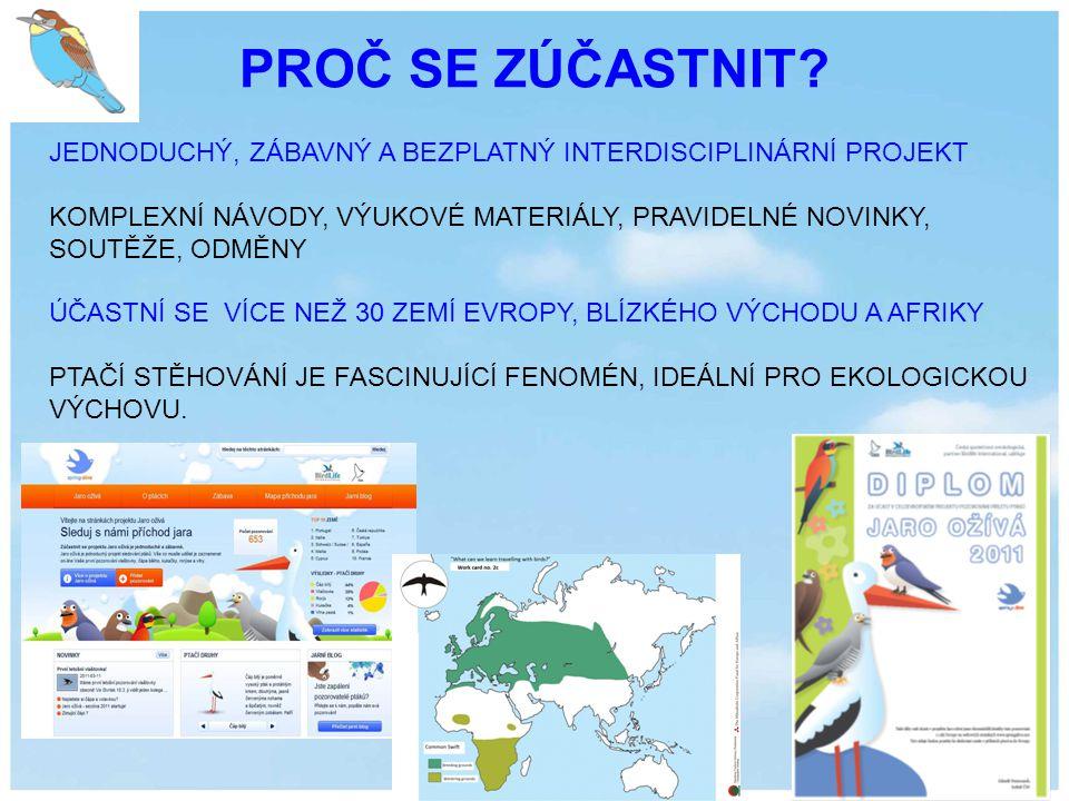 SHRNUTÍ SEZÓNY 2013 Celkem 286822 pozorování 3313 pozorování v ČR 6.