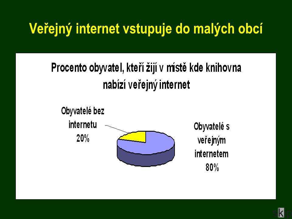 Veřejný internet vstupuje do malých obcí