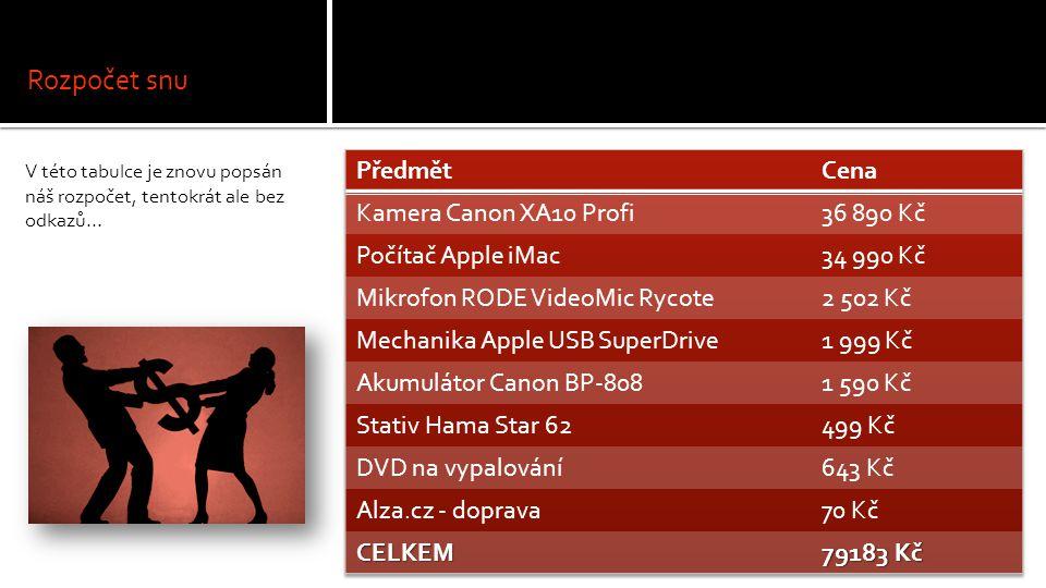 Video Video projektu bylo odebránu kvůli velikosti prezentace.