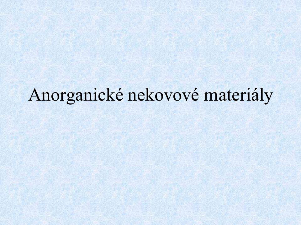 Anorganické nekovové materiály