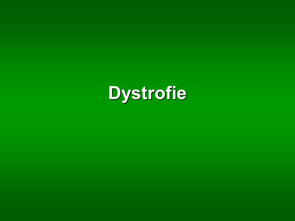 Dystrofie